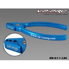 RS-611-LBL - Alum. Shock Shaft Plier(light blue)