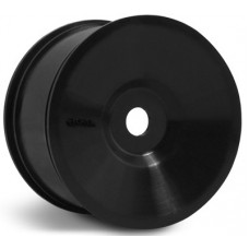 AX8034 Axial Black Dish Wheel for Truggy 55x56 (6 Pieces) 17MM HEX