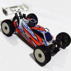 BD-FRC-LO1013  Bitty Design Force Clear body for TLR Losi 8ight 8 2.0 EU