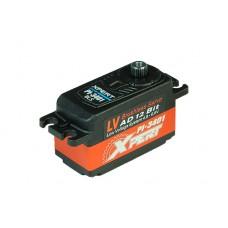 PI-3401 - Xpert RC PI-3401 Brushless Servo 13.20kg 0.070 Sec 6.6v Complete Alloy Case 4.8 - 6.6v