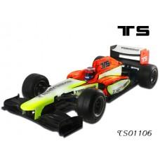 TS01106 Duckbill F1 car clear body and helmet