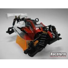 RCF0010 RaceformBodies High Downforce bodyshell for JQ White Edition V2