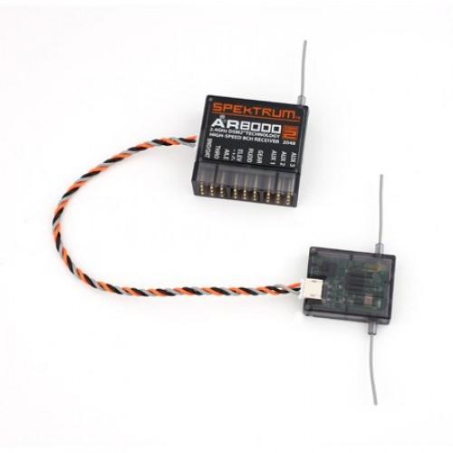SPMAR8000 - Spektrum 2 4Ghz DSM2/X AR8000 Telemetry Receiver