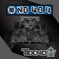 TKR8300 – NB48.4 1/8th 4WD Competition Nitro Buggy Kit