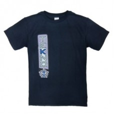 TKRTS05M Tekno RC T-Shirt (vertical design, navy blue)