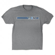 TKRTS06S Tekno RC T-Shirt (horizontal design, lightweight, graphite heather)