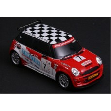 1-MJX-C8111-A RADIO CONTROLLED MINI COOPER S (JCC VERSION) (1:20) RED