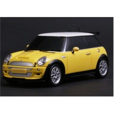 1-MJX-C8111-D RADIO CONTROLLED MINI COOPER S (1:20 SCALE) YELLOW
