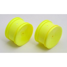 AS9689 Associated B4/B44 Rear Wheel Yellow