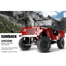 GM52000 Gmade Sawback 1/10th Scale Crawler Kit