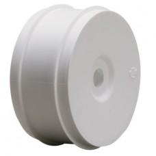 LOSA7750 1/8 BUGGY DISH WHEELS WHITE (4)