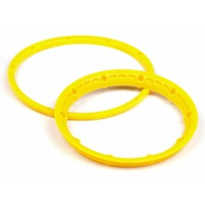 3277 - HEAVY DUTY WHEEL BEAD LOCK RINGS (YELLOW/2pcs)