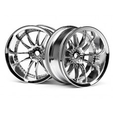 3282 - WORK XSA 02C WHEEL 26MM CHROME (9MM OFFSET)
