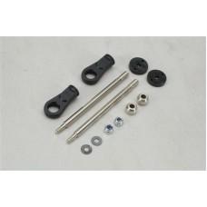 Z-XTM149841 Shock Shaft/B.End (3.5x61mm/Pk2)XT2